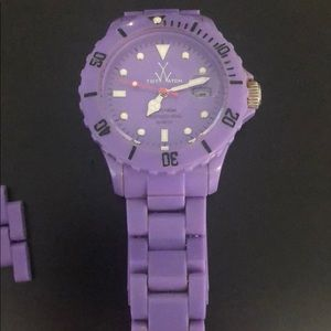 Purple toy watch!!